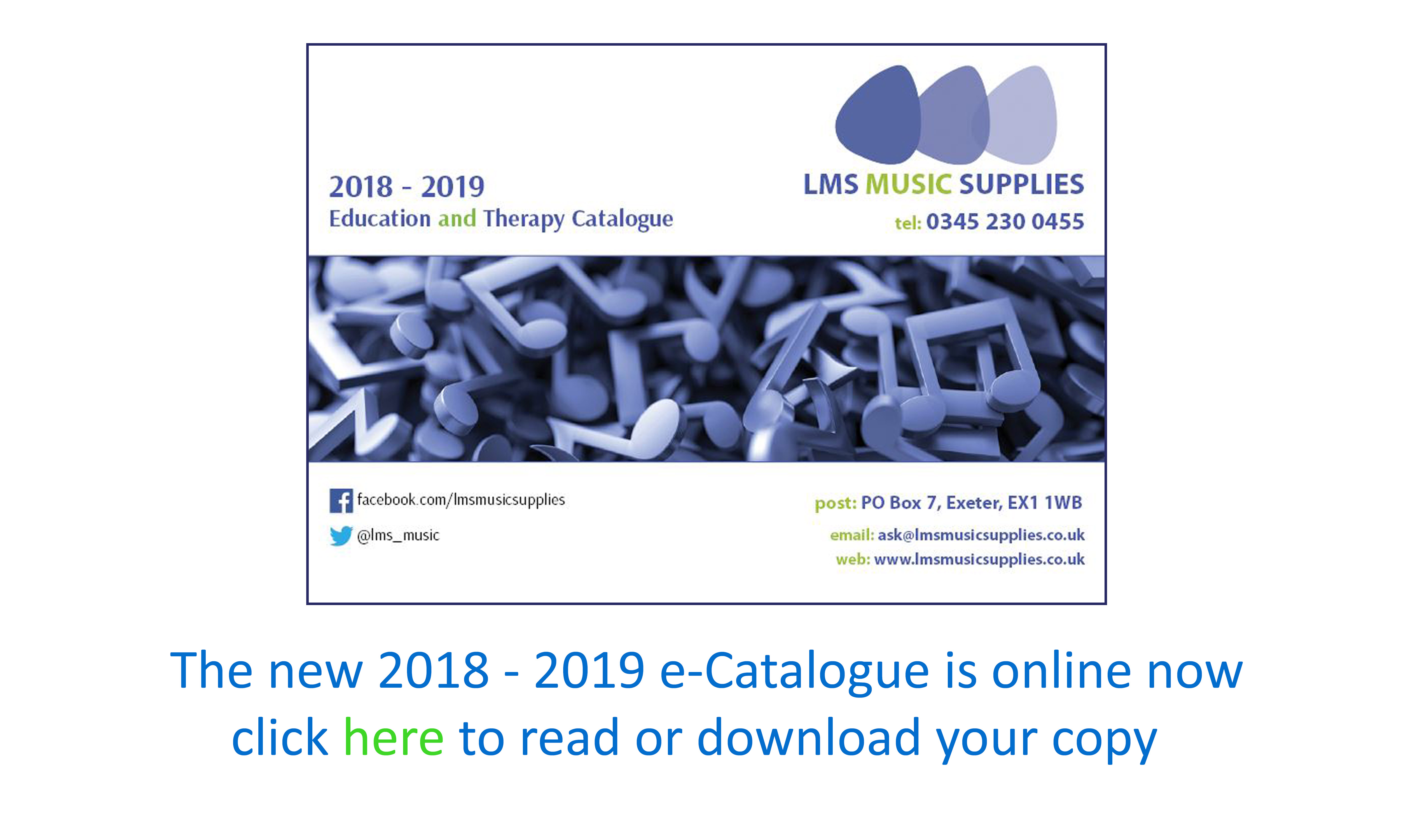 LMS Music Supplies Catlogue 2018 - 2019