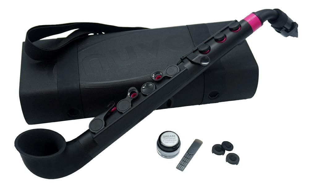 jSAX Black with Pink Trim